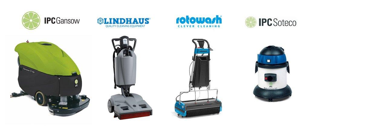 Fornitura e noleggio macchine per la pulizia industriale a Milano e Varese.