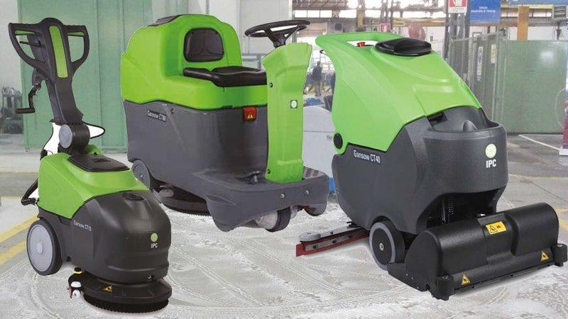 Lavasciuga pavimenti industriali: vendita e noleggio  Magica Servizi